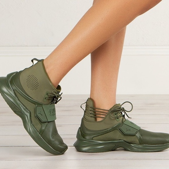 Rihanna New Fenty Poshmark Puma 75 Shoes Green Trainer Hi X wqxXxA8Z